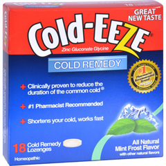 HGR0490102 - Cold-EEZECold Remedy Lozenges Mint Frost - 18 Lozenges