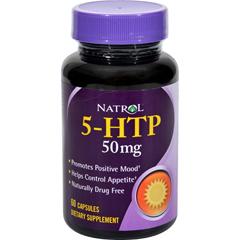 HGR0495010 - Natrol5-HTP - 50 mg - 60 Capsules