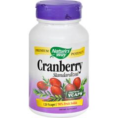HGR0495895 - Nature's WayCranberry Standardized - 120 Vcaps
