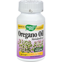 HGR0496356 - Nature's WayOregano Oil Standardized - 60 Vegetarian Capsules