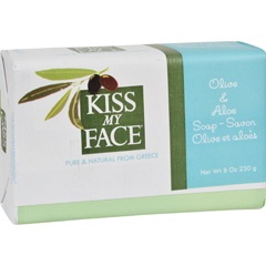 HGR0496406 - Kiss My FaceBar Soap Olive and Aloe - 8 oz