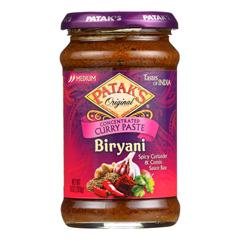 HGR0499178 - Patak's - Curry Paste - Concentrated - Biryani - Medium - 10 oz.. - case of 6