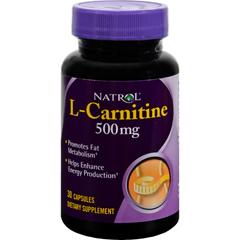 HGR0501148 - NatrolL-Carnitine - 500 mg - 30 Capsules
