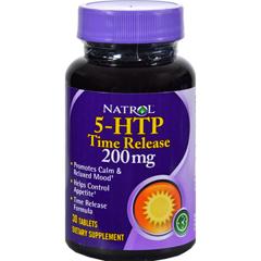 HGR0501379 - Natrol - 5-HTP TR Time Release - 200 mg - 30 Tablets