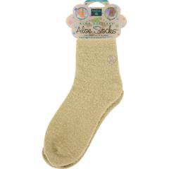 HGR0505149 - Earth TherapeuticsAloe Socks Tan - 1 Pair