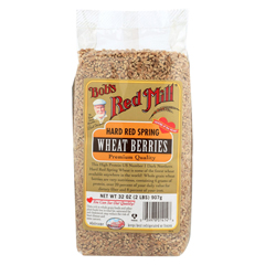 HGR0507160 - Bob's Red MillHard Red Spring Wheat Berries - 32 oz. - Case of 4