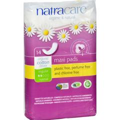 HGR0507749 - NatracareNatural Regular Pads - 14 Pack