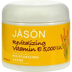 HGR0513028 - Jason Natural ProductsMoisturizing Creme Revitalizing Vitamin E - 5000 IU - 4 oz