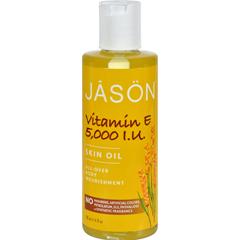 HGR0514026 - Jason Natural Products - Vitamin E Pure Natural Skin Oil - 5000 IU - 4 fl oz
