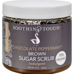 HGR0516260 - Soothing TouchBrown Sugar Scrub - Chocolate/Peppermint - 16 oz
