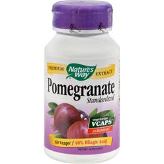 HGR0516930 - Nature's WayPomegranate Standardized - 60 Vegetarian Capsules