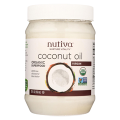 HGR0517714 - NutivaExtra Virgin Coconut Oil Organic - 29 oz - Case of 6