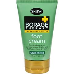HGR0517912 - Shikai Products - Shikai Borage Therapy Foot Cream Unscented - 4.2 fl oz