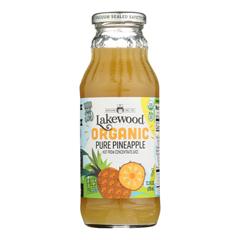 HGR0519355 - Lakewood - Pineapple Juice - Pineapple - Case of 12 - 12.5 Fl oz..