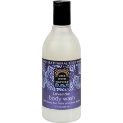 HGR0520262 - One With NatureDead Sea Mineral Body Wash Lavender - 12 fl oz