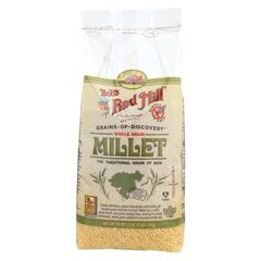 HGR0523621 - Bob's Red Mill - Whole Grain Millet - 28 oz. - Case of 4