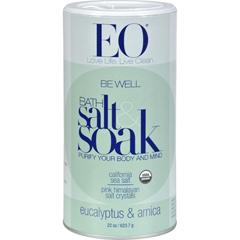 HGR0523860 - EO ProductsBath Salts Eucalyptus and Arnica - 22 oz