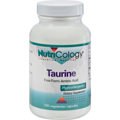 HGR0524439 - NutricologyNutriCology Taurine - 100 Capsules