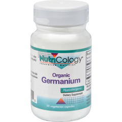 HGR0524793 - NutricologyNutriCology Organic Germanium - 150 mg - 50 Capsules