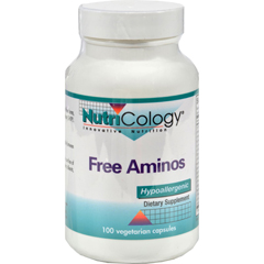 HGR0524850 - NutricologyNutriCology Free Aminos - 100 Capsules
