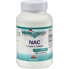 HGR0524876 - NutricologyNutriCology NAC N-Acetyl-Cysteine - 500 mg - 120 Tablets