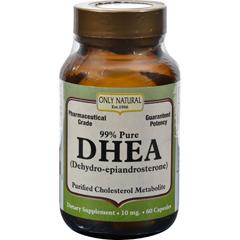 HGR0525691 - Only NaturalDHEA - 99% - 10 mg - 60 Caps