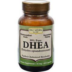 HGR0525717 - Only NaturalDHEA - 25 mg - 60 Capsules