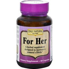 HGR0525931 - Only NaturalSexy Lady Avena Sativa - 500 mg - 30 Capsules