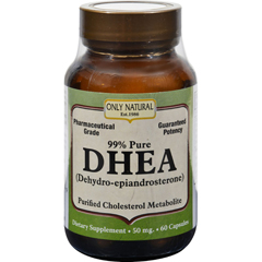 HGR0525956 - Only NaturalDHEA - 50 mg - 60 Capsules