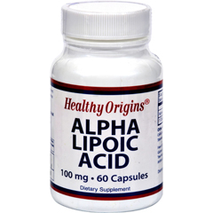 HGR0527911 - Healthy OriginsAlpha Lipoic Acid - 100 mg - 60 Caps