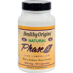 HGR0528174 - Healthy OriginsPhase 2 Starch Neutralizer - 500 mg - 90 Capsules
