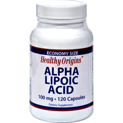 HGR0528299 - Healthy OriginsAlpha Lipoic Acid - 100 mg - 120 Caps