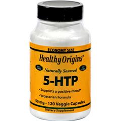HGR0528356 - Healthy OriginsNatural 5-HTP - 50 mg - 120 Capsules