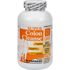 HGR0528653 - Health PlusSuper Colon Cleanse Day Formula - 180 Capsules
