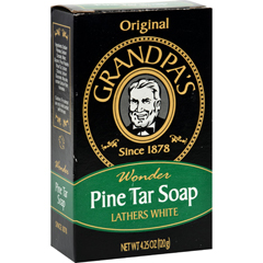 HGR0528778 - Grandpa'sPine Tar Bar Soap - 4.25 oz