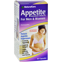 HGR0528877 - Natural CareAppetite for Men and Women - 60 Capsules