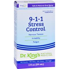 HGR0529354 - King Bio Homeopathic911 Stress Control - 2 fl oz