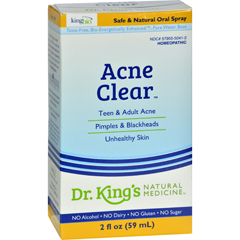 HGR0529370 - King Bio HomeopathicAcne Clear - 2 fl oz