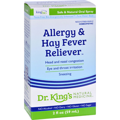 HGR0529396 - King Bio HomeopathicAllergies and Hay Fever - 2 fl oz