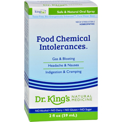 HGR0529412 - King Bio HomeopathicAllergy Food and Chemical Relief - 2 fl oz