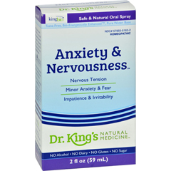 HGR0529453 - King Bio HomeopathicAnxiety and Nervousness - 2 fl oz