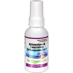HGR0529537 - King Bio HomeopathicAttention and Learning Enhancement - 2 fl oz