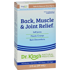 HGR0529552 - King Bio HomeopathicBack Neck Muscle and Joint Relief - 2 fl oz