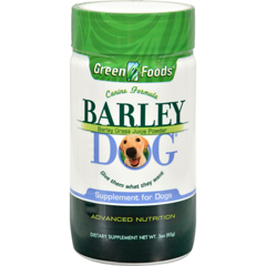 HGR0529628 - Green FoodsAll-Breed Formula Barley Dog Grass Juice - 3 oz