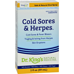 HGR0529636 - King Bio HomeopathicCold Sores and Herpes Reliever - 2 fl oz