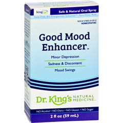 HGR0529750 - King Bio HomeopathicGood Mood Enhancer - 2 fl oz
