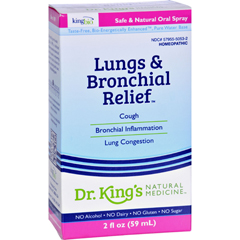 HGR0529834 - King Bio Homeopathic- Lungs and Bronchial Relief - 2 oz