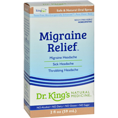 HGR0529891 - King Bio HomeopathicMigraine Relief - 2 fl oz