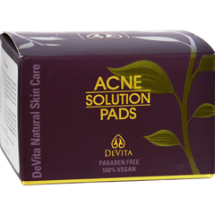 HGR0531368 - Devita Natural Skin CareAcne Solution Pads - 30 count - 2 oz