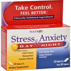 HGR0533687 - NatrolStress Anxiety Day and Nite Formula - 20 Tablets